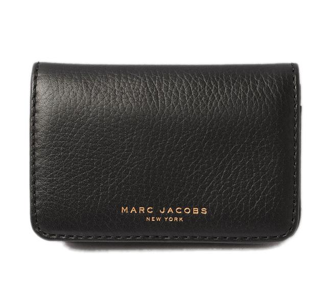 マークジェイコブス カードケース/名刺入れ MARC JACOBS RECRUIT/リクルート ビジネス ブラック M0010788