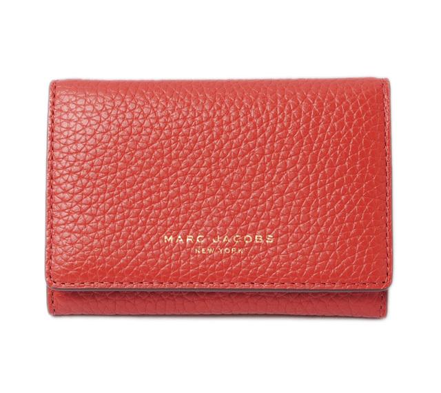 マークジェイコブス 財布/ミニウォレット MARC JACOBS SAFFIANO/サフィアノ COPPER/ダークレッド M0011051