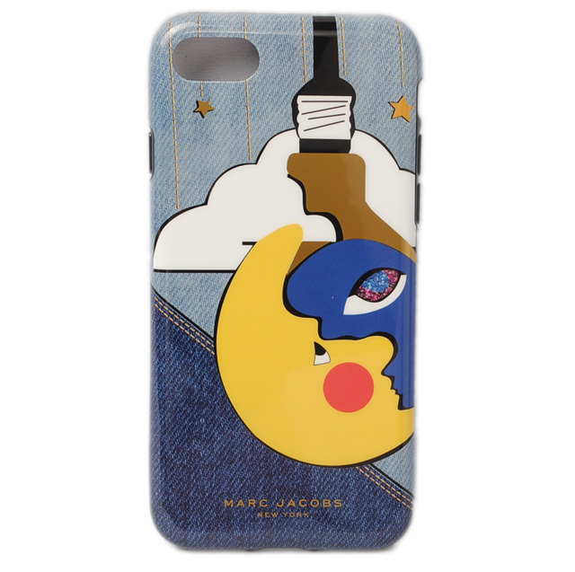 マークジェイコブス iPhoneケース MARC JACOBS iPhone7/6/6S スマートフォン カバー JULIE VERHOEVEN デニム M0011285
