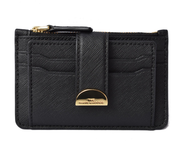 マークジェイコブス カードケース/コインケース MARC JACOBS ミニ財布 ブラック M0016234