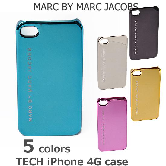 MARC BY MARC JACOBS(マークバイマークジェイコブス)「TECH」  iPhoneケース 4G対応 メタリック M3111625【新品】【送料無料】