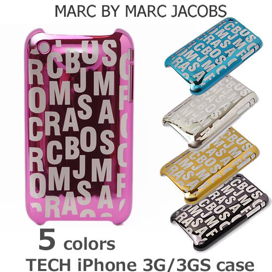 【セール★】MARC BY MARC JACOBS(マークバイマークジェイコブス)iPhoneケース ロゴ 3G/3GS対応 M3111631【新品】【送料無料】