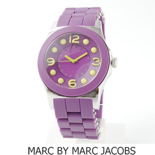 【送料無料】マークバイマークジェイコブス  腕時計 SS パープル/イエロー MBM2515 新品