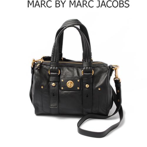 MARC BY MARC JACOBS(マークバイマークジェイコブス) 2WAY ミニボストンバッグ ストラップ付 ブラック M3111007【新品】【送料無料】