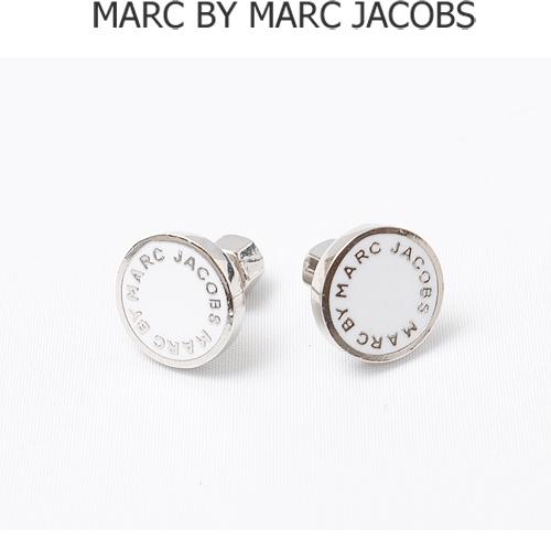 MARC BY MARC JACOBS(マークバイマークジェイコブス)  アクセサリー ピアス ホワイト(WHITE)/シルバー M3PE525 【新品】【送料無料】