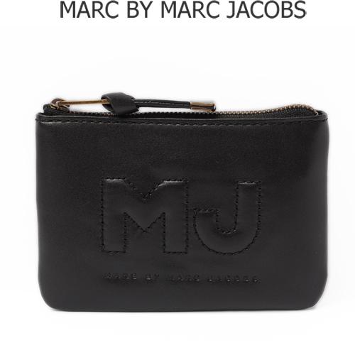 マークバイマークジェイコブス メンズライン カードケース付小銭入れ  「MJ」 ブラック M403431【新品】【送料無料】