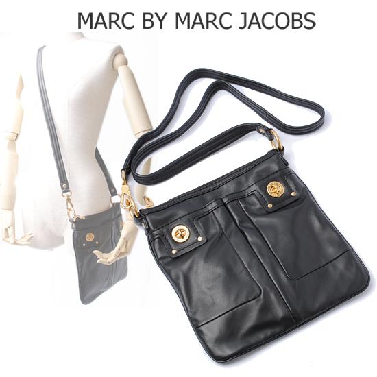MARC BY MARC JACOBS(マークバイマークジェイコブス)2way ショルダーバッグ(ポシェット) ロング ブラック M303073