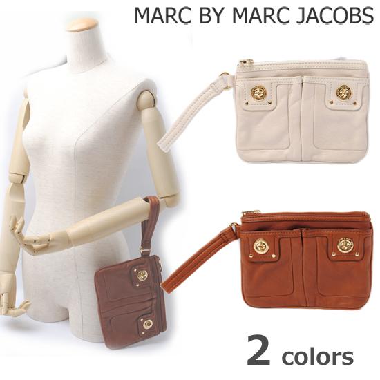 MARC BY MARC JACOBS(マークバイマークジェイコブス)ターンロック ストラップ付 クラッチバッグ(ポーチ) M381000【新品】【送料無料】