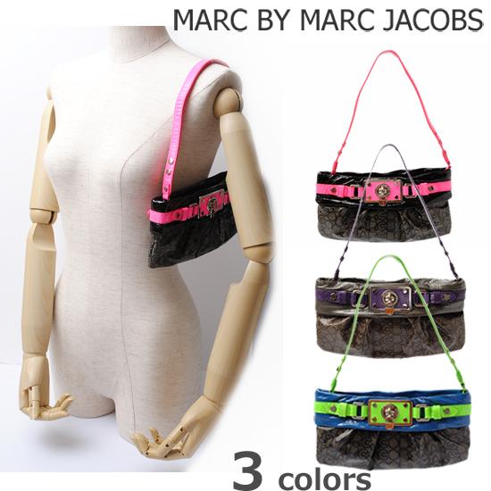 MARC BY MARC JACOBS(マークバイマークジェイコブス)ターンロック アクセサリーポーチ ネオンカラー M382095【新品】【送料無料】