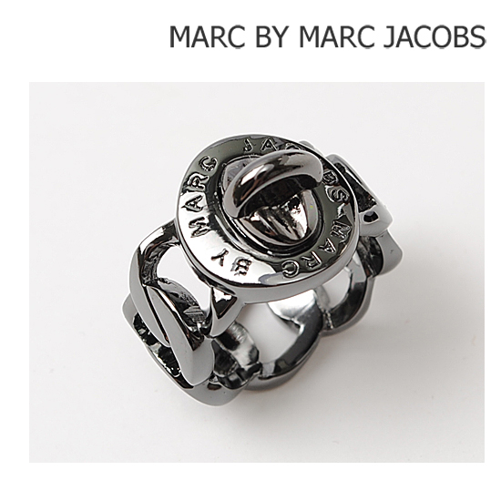 MARC BY MARC JACOBS(マークバイマークジェイコブス) アクセサリー リング(指輪) ターンロック/ガンメタリック M3PE541