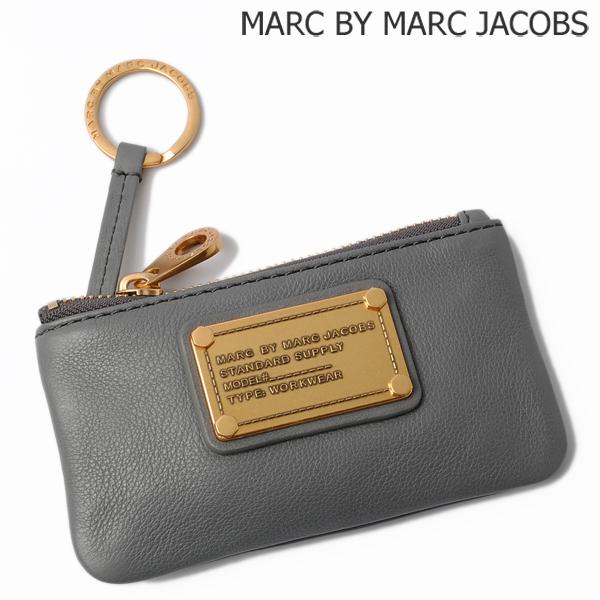 MARC BY MARC JACOBS マークバイマークジェイコブス キーリング付小物入れ クラシック Q グレー M3131459【新品】【送料無料】