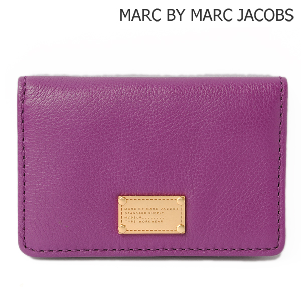 MARC BY MARC JACOBS マークバイマークジェイコブス カードケース/名刺入れ ヴァイオレット/VIOLET M3123487【新品】【送料無料】