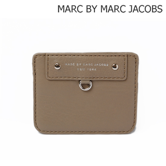 MARC BY MARC JACOBS(マークバイマークジェイコブス) カードケース PREPPY ラムレザー/グレー(CEMENT) M3121402【新品】【送料無料】