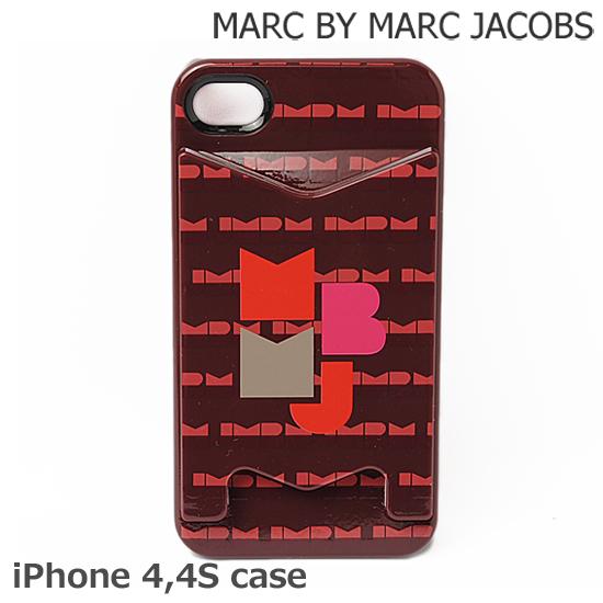 MARC BY MARC JACOBS(マークバイマークジェイコブス) iPhoneケース 4、4S対応 MBMJ ボルドー M6122280【新品】【送料無料】