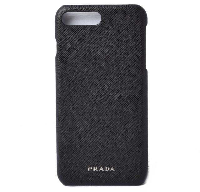 プラダ iphone 8plusケース/8+ケース/7plusケース/7+ケース PRADA iPhoneケース 2ZH036 SAFFIANO/ロゴ NERO/ブラック