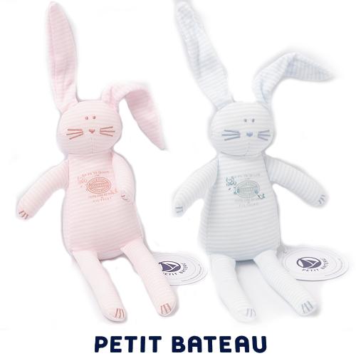 【出産祝いにも☆】プチバトー PETIT BATEAU ベビー ぬいぐるみ ミラレ うさぎ 新品