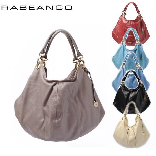25%off RABEANCO(ラビアンコ) バルーンバッグ/ショルダーバッグ ソフトレザー 133554 6色 【新品】【送料無料】