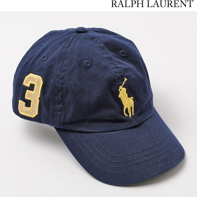 ポロ ラルフローレン Polo Ralph Lauren 帽子/キャップ キッズ/ベビー ビッグポニー ネイビー 380135390