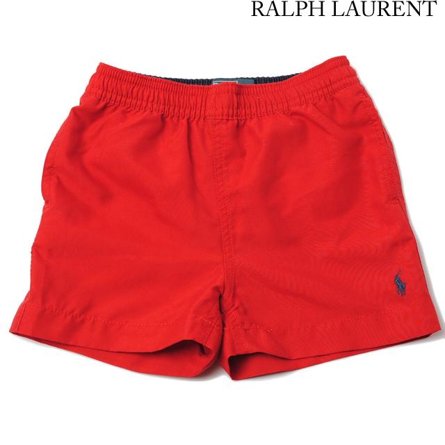 ポロ ラルフローレン Polo Ralph Lauren 水着/スイムウェア キッズ/ベビー ポニー レッド 380151377