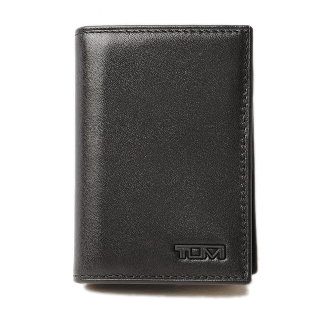 トゥミ IDケース/カードケース TUMI DELTA/デルタ 0118656D-ID GUSSETED ブラック