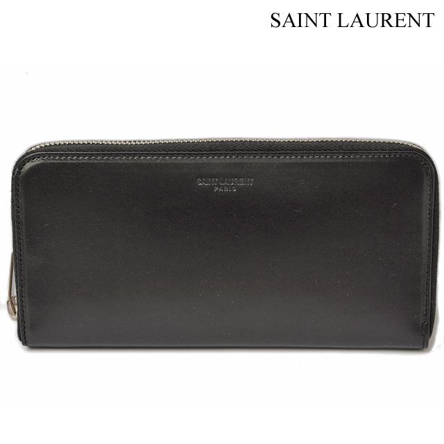 サンローランパリ 長財布 SAINT LAURENT PARIS  メンズ ボックスクラシック ブラック シルバー金具 315859 BM00J 1000