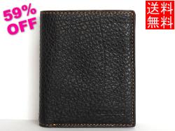 コーチ メンズ アウトレット 二つ折り財布F11989黒