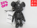 コーチ ミッキーマウスのレザー人形F59152黒