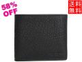 コーチ メンズ アウトレット二つ折り財布F67654黒