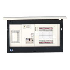 河村電器産業 enステーション ホーム分電盤 リミッタースペース付き 単3 フタ付露出 20回路+4予備回路 EL5204 主幹50A