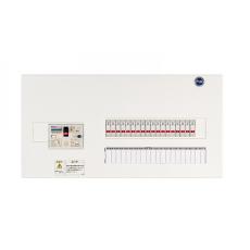河村電器産業 enステーション ホーム分電盤 リミッタースペース無し 単3 フタ無し露出 14回路+6予備回路 ENE6146 主幹60A