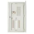 【生産終了品】河村電器産業 スマートホーム分電盤タテ型機器スペース付(フタ付) 24回路+0予備回路 CN3424-0FLT 主幹選択できます。40A、50A、60A