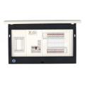 河村電器産業 enステーション ホーム分電盤 リミッタースペース付き 単3 フタ付露出 40回路+0予備回路 EL6400 主幹75A