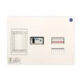 河村電器産業 enステーション ホーム分電盤 リミッタースペース付き 単2 フタ無し露出 6回路+0予備回路 ELE23060 主幹30A