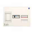 河村電器産業 enステーション ホーム分電盤 リミッタースペース付き 単3 フタ無し露出 8回路+0予備回路 ELE3080 主幹30A