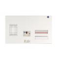 河村電器産業 enステーション ホーム分電盤 リミッタースペース付き 単3 フタ無し露出 20回路+0予備回路 ELE4200 主幹40A