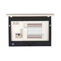 河村電器産業 enステーション ホーム分電盤 リミッタースペース無し 単3 フタ付露出 40回路+0予備回路 EN1400 主幹100A