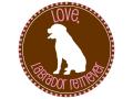 レターパックOK / ハンドメイドの犬のシルエットシール(Love) Fire Hydrant Press[Made in USA]