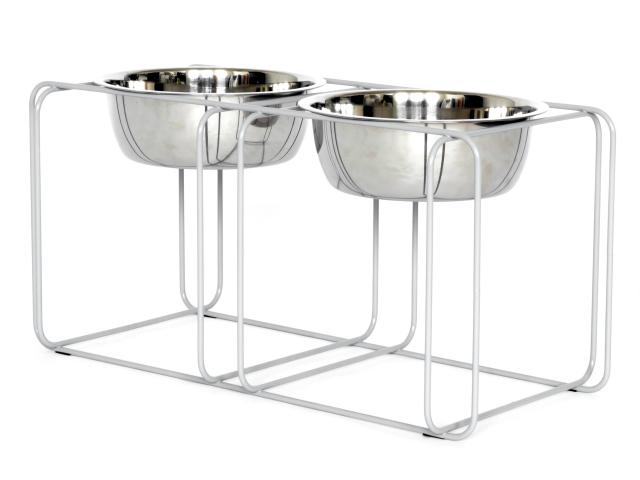 家具デザイナーが作るフードボール&スタンド / Wire&Dine (ワイヤー・アンド・ダイン) Mサイズ / Made in USA