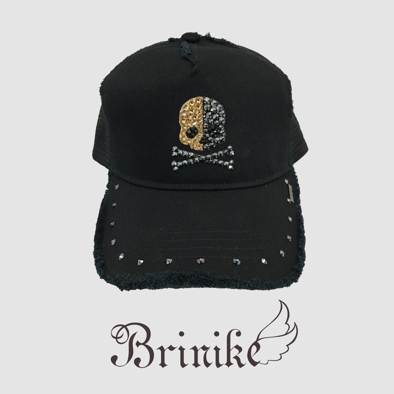 【BRINIKE】スワロキャップ◆オペラスカル ゴールド