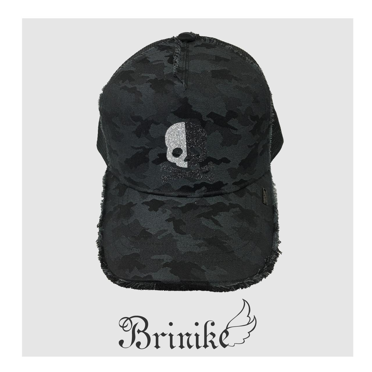 【BRINIKE】グリッターキャップ◆オペラスカル