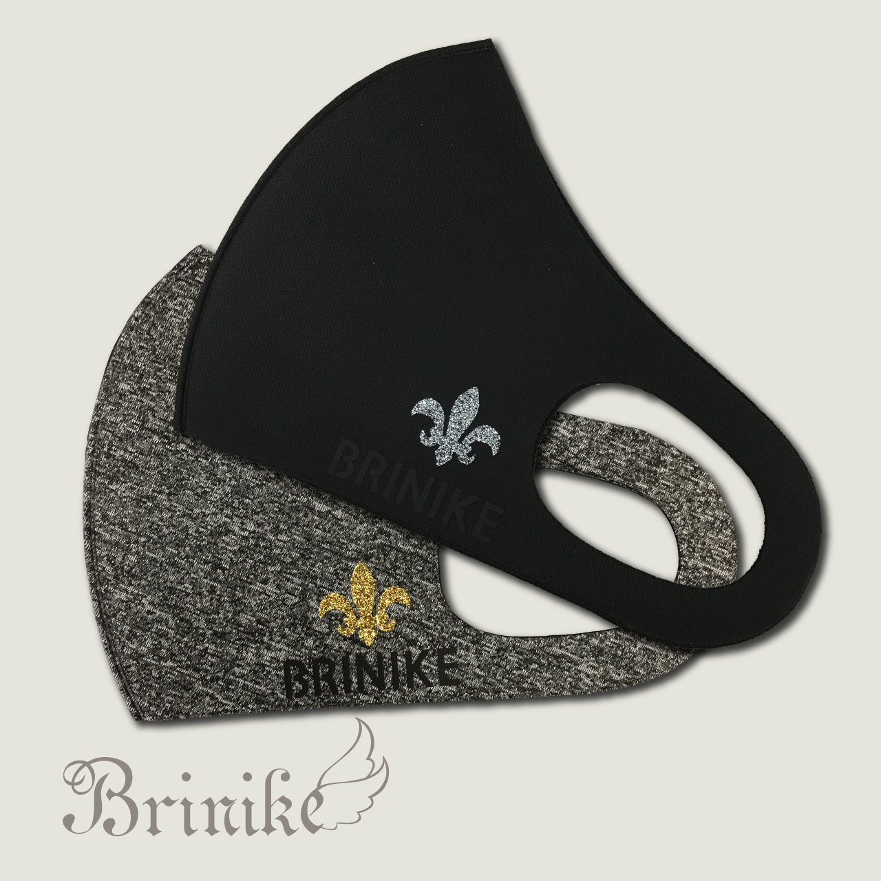 【BRINIKE】デザインマスク◆ユリ