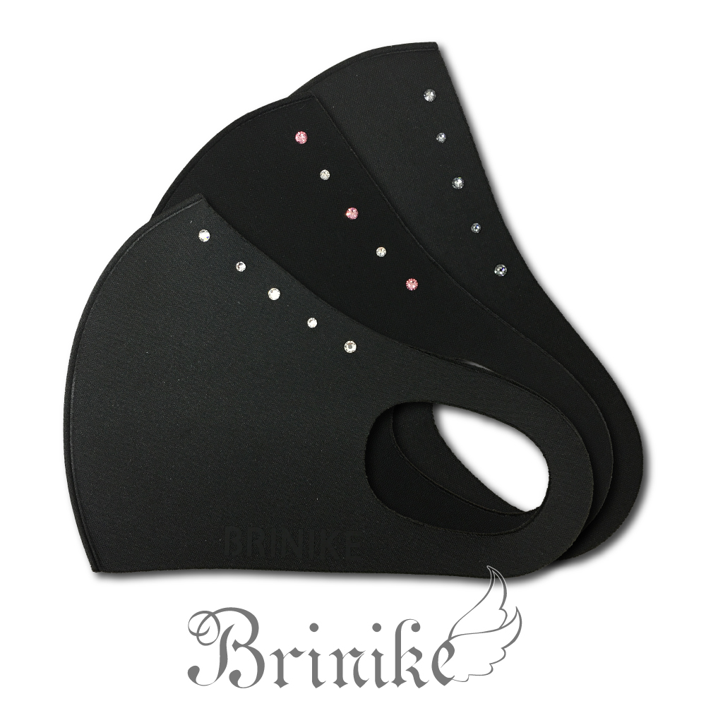 【BRINIKE】スワロフスキーマスク ライン