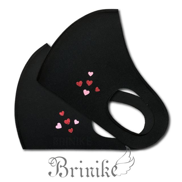 【BRINIKE】デザインマスク◆ファイブハート