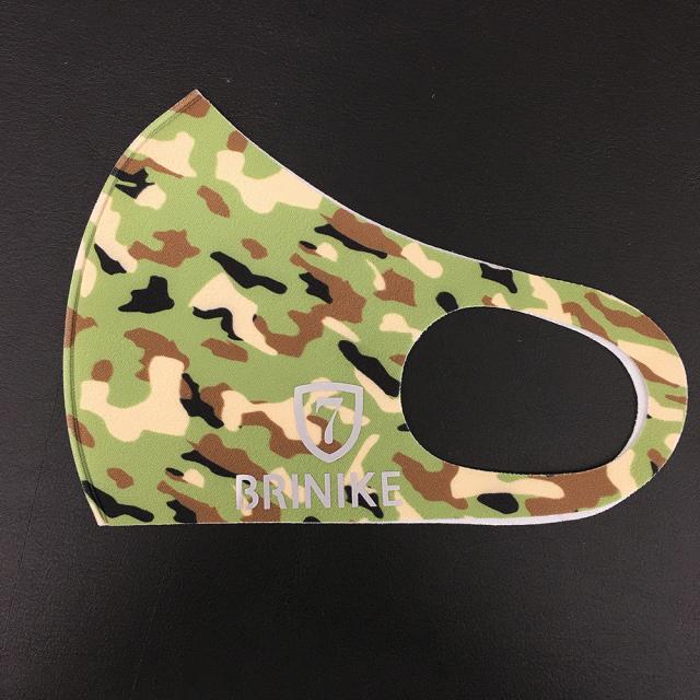 【BRINIKE】デザインマスク◆カモフラージュ