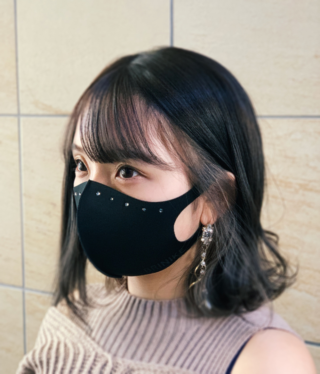 マスク着画