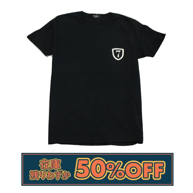 【在庫残り僅か!50%OFFSALE】クリスタルTシャツ◆エンブレム
