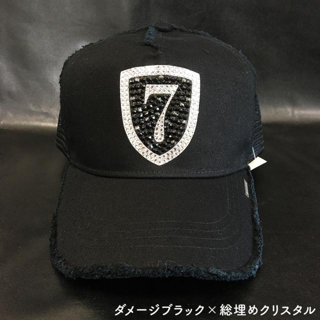 クリスタルキャップ◆エンブレム【総埋め】