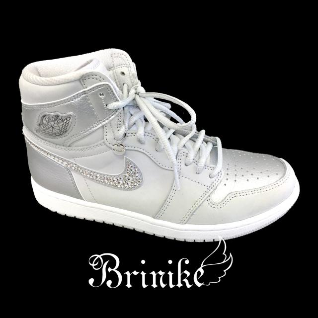 【BRINIKE】スニーカー◆スワロフスキーカスタム