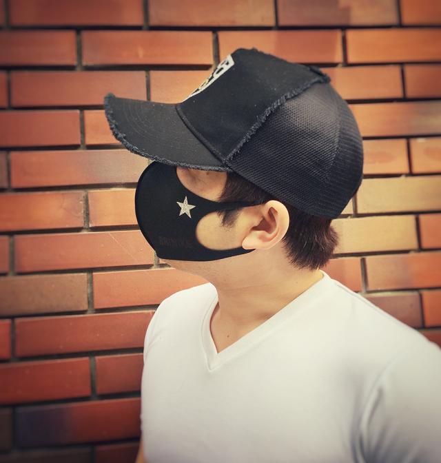 【BRINIKE】デザインマスク◆ワンスター