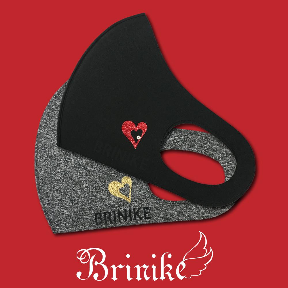 【BRINIKE】デザインマスク◆ワンハート